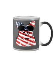 Farmer Pig flag  Color Changing Mug thumbnail