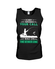 Fishing I missed your call  Unisex Tank thumbnail
