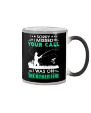 Fishing I missed your call  Color Changing Mug thumbnail