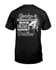 Grandpa Hero Granddaughter Princess Classic T-Shirt tile