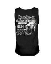 Grandpa Hero Granddaughter Princess Unisex Tank tile