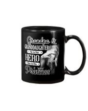 Grandpa Hero Granddaughter Princess Mug tile