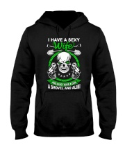 I have a sexy wife Hooded Sweatshirt thumbnail