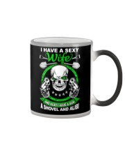 I have a sexy wife Color Changing Mug thumbnail