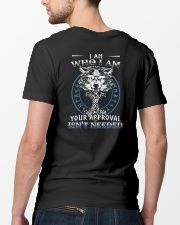 I Am Who I Am Yourr Approval Isn't Needed Viking Classic T-Shirt lifestyle-mens-crewneck-back-5