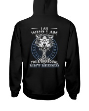 I Am Who I Am Yourr Approval Isn't Needed Viking Hooded Sweatshirt thumbnail