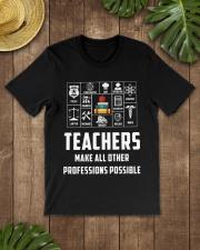 Teachers make  Classic T-Shirt lifestyle-mens-crewneck-front-18