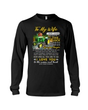 Camping Wife Clock Ability Moon Long Sleeve Tee thumbnail