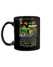 Camping Wife Clock Ability Moon Mug back