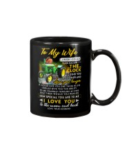 Camping Wife Clock Ability Moon Mug front