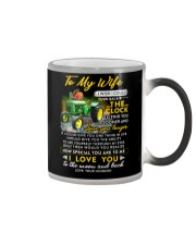 Camping Wife Clock Ability Moon Color Changing Mug thumbnail