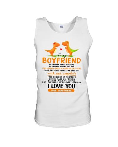 Dinosaur Boyfriend Love Made Us Forever Together