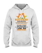 Dinosaur Boyfriend Love Made Us Forever Together Hooded Sweatshirt thumbnail
