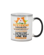 Dinosaur Boyfriend Love Made Us Forever Together Color Changing Mug thumbnail