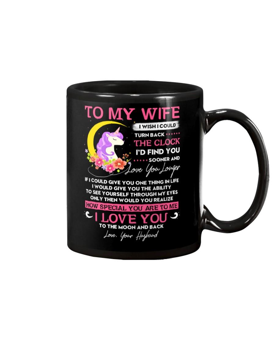 Unicorn Wife Clock Ability Moon Mug