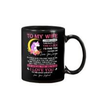 Unicorn Wife Clock Ability Moon Mug front