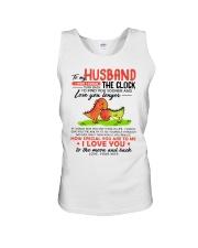 Dinosaur Husband Clock Ability Moon Unisex Tank thumbnail
