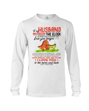 Dinosaur Husband Clock Ability Moon Long Sleeve Tee thumbnail