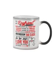 Family Boyfriend Destiny Clock Moon Color Changing Mug thumbnail