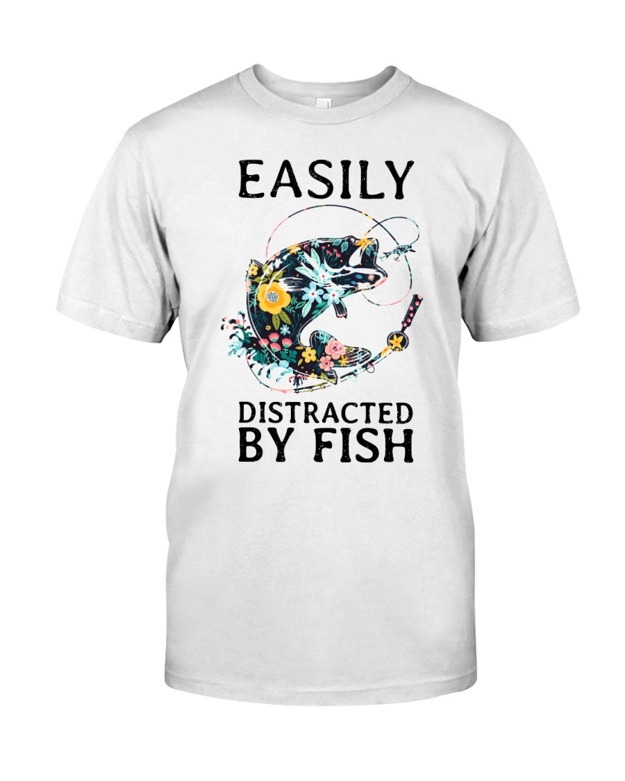 Easily distracted by Fish Classic T-Shirt