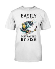 Easily distracted by Fish Classic T-Shirt front