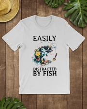 Easily distracted by Fish Classic T-Shirt lifestyle-mens-crewneck-front-18