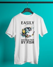 Easily distracted by Fish Classic T-Shirt lifestyle-mens-crewneck-front-3