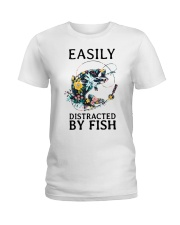 Easily distracted by Fish Ladies T-Shirt thumbnail
