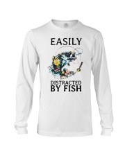 Easily distracted by Fish Long Sleeve Tee thumbnail