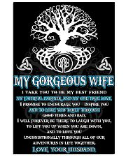 Faithful Partner True Love Wife Viking Poster 11x17 Poster front