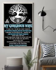 Faithful Partner True Love Wife Viking Poster 11x17 Poster lifestyle-poster-1