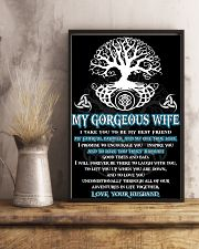 Faithful Partner True Love Wife Viking Poster 11x17 Poster lifestyle-poster-3