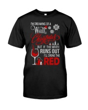 White Christmas Drink The Red Classic T-Shirt thumbnail
