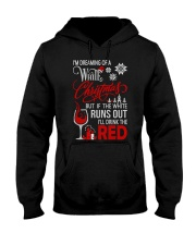 White Christmas Drink The Red Hooded Sweatshirt thumbnail