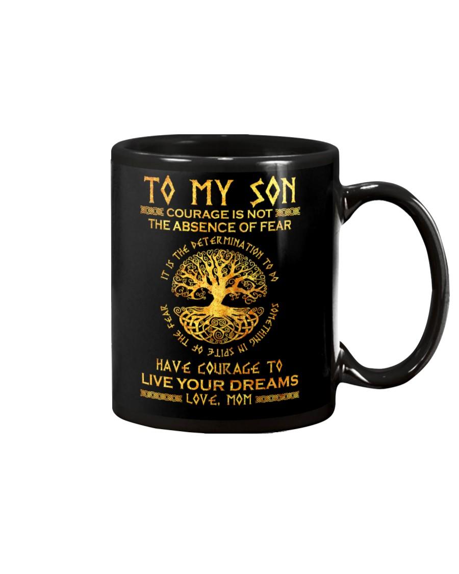 Viking Courage Son Mug