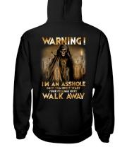 Mechanic Warning Asshole Walk Away Shirt Hooded Sweatshirt thumbnail