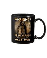 Mechanic Warning Asshole Walk Away Shirt Mug thumbnail