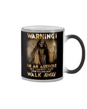 Mechanic Warning Asshole Walk Away Shirt Color Changing Mug thumbnail