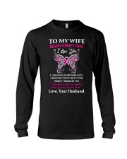 Breast Cancer To My Wife Mug Long Sleeve Tee thumbnail