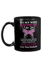 Breast Cancer To My Wife Mug Mug back