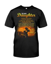 Trucker to my daughter mug Classic T-Shirt thumbnail