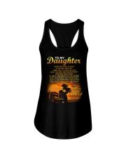 Trucker to my daughter mug Ladies Flowy Tank thumbnail