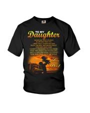 Trucker to my daughter mug Youth T-Shirt thumbnail