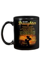 Trucker to my daughter mug Mug back