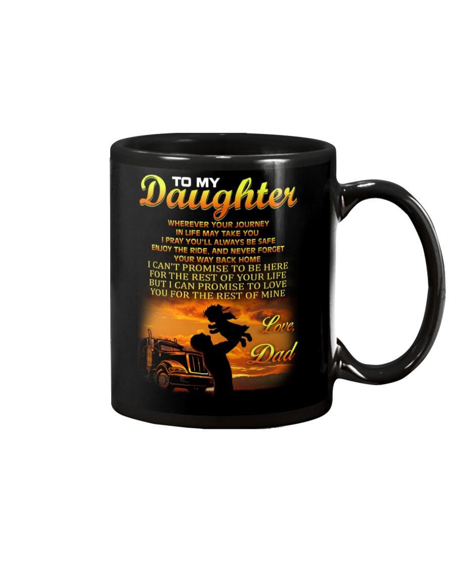 Trucker to my daughter mug Mug