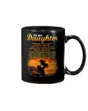 Trucker to my daughter mug Mug front
