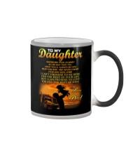 Trucker to my daughter mug Color Changing Mug thumbnail