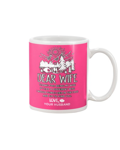 Camping Dear Wife
