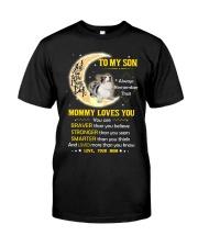 Cardigan Welsh Corgi Son Mom Mommy Loves You Classic T-Shirt thumbnail