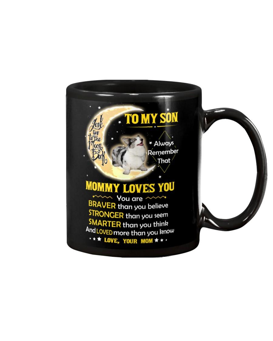Cardigan Welsh Corgi Son Mom Mommy Loves You Mug